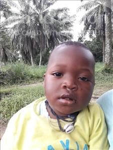 Choose a child to sponsor, like this little boy from Jaiama Bongor, Raymond Bockarie age 1