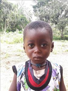 Sulaiman, aged 3, from Sierra Leone, is hoping for a World Vision sponsor