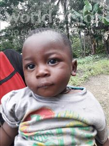 Choose a child to sponsor, like this little boy from Jaiama Bongor, Tommy age 1