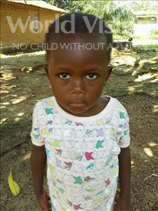 Choose a child to sponsor, like this little boy from Jaiama Bongor, Idrissa age 3