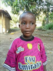 Choose a child to sponsor, like this little boy from Jaiama Bongor, Ibrahim age 5