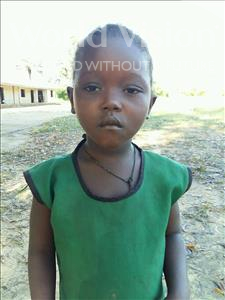 Choose a child to sponsor, like this little girl from Jaiama Bongor, Kadiatu age 4