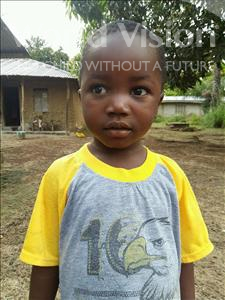 Choose a child to sponsor, like this little boy from Jaiama Bongor, Williams age 3