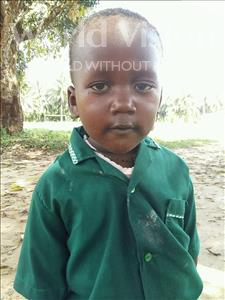 Choose a child to sponsor, like this little boy from Jaiama Bongor, Austin Yayah age 3