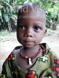 Choose a child to sponsor, like this little boy from Jaiama Bongor, Ibrahim age 2
