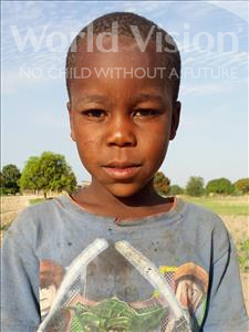 Choose a child to sponsor, like this little boy from Kilimatinde, Meck Amosi age 8