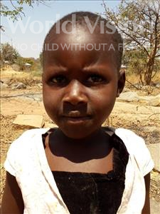 Choose a child to sponsor, like this little girl from Kilimatinde, Janeth David age 6