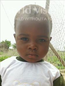 Choose a child to sponsor, like this little girl from Kilimatinde, Sesilia Damson age 3