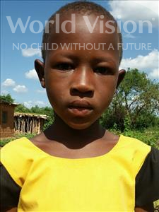 Choose a child to sponsor, like this little girl from Kilimatinde, Nkwandu Njile age 8