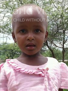 Choose a child to sponsor, like this little girl from Kilimatinde, Mecktrida Benedicto age 4