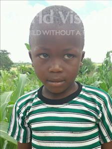 Choose a child to sponsor, like this little boy from Kilimatinde, Michael Abel age 7