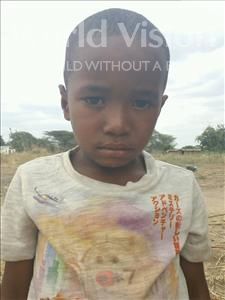 Choose a child to sponsor, like this little boy from Kilimatinde, Leornard Vicent age 6