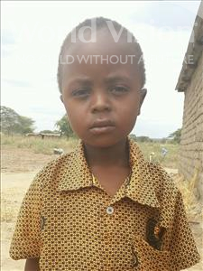 Choose a child to sponsor, like this little boy from Kilimatinde, Valentino Venus age 5