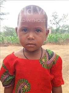 Choose a child to sponsor, like this little girl from Kilimatinde, Maria Japhet age 3
