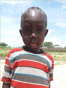 Choose a child to sponsor, like this little boy from Kilimatinde, Dickson Dino age 5