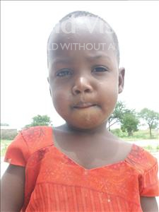 Choose a child to sponsor, like this little girl from Kilimatinde, Roza Mathias age 3
