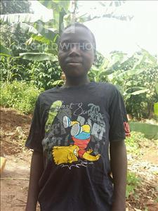 Choose a child to sponsor, like this little boy from Kibiga-Mulagi (Kimu), Richard age 12