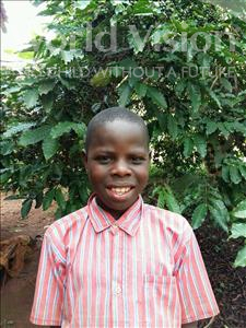 Choose a child to sponsor, like this little boy from Kibiga-Mulagi, Noah age 12