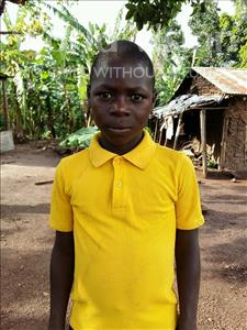 Choose a child to sponsor, like this little boy from Kibiga-Mulagi, Willingstone age 13