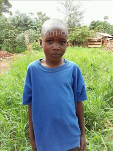 Choose a child to sponsor, like this little boy from Kibiga-Mulagi (Kimu), Lytone age 10