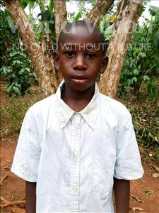 Choose a child to sponsor, like this little boy from Kibiga-Mulagi, Herbert age 9