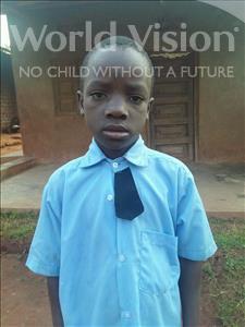 Choose a child to sponsor, like this little boy from Kibiga-Mulagi (Kimu), Pius age 8