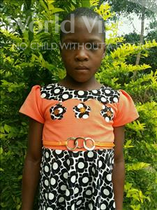 Choose a child to sponsor, like this little girl from Kibiga-Mulagi, Blessing age 8