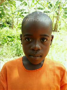 Choose a child to sponsor, like this little girl from Kibiga-Mulagi (Kimu), Noeline age 7