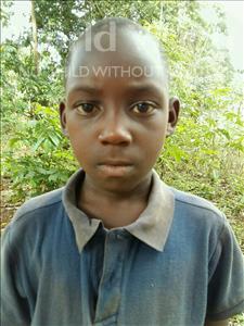 Choose a child to sponsor, like this little boy from Kibiga-Mulagi, Kevine age 7