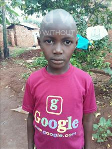 Choose a child to sponsor, like this little boy from Kibiga-Mulagi, Walusimbi age 9