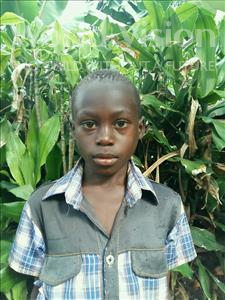 Choose a child to sponsor, like this little boy from Kibiga-Mulagi, Emmanuel age 9