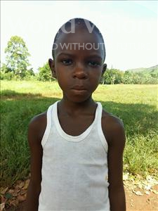 Choose a child to sponsor, like this little girl from Kibiga-Mulagi, Nakate age 8