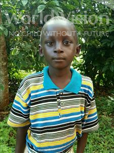 Choose a child to sponsor, like this little boy from Kibiga-Mulagi (Kimu), Matia age 7