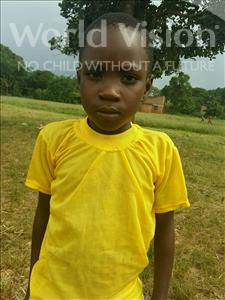 Choose a child to sponsor, like this little girl from Kibiga-Mulagi, Nakayima age 7
