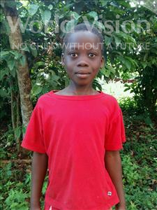 Choose a child to sponsor, like this little girl from Kibiga-Mulagi, Teddy age 10