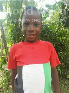 Choose a child to sponsor, like this little boy from Kibiga-Mulagi, Bakka age 8