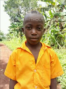 Choose a child to sponsor, like this little boy from Kibiga-Mulagi, Ssempereza age 8