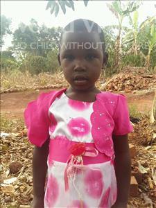 Choose a child to sponsor, like this little girl from Kibiga-Mulagi, Nakayeenga age 3
