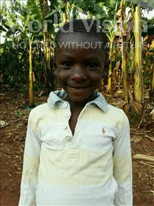Choose a child to sponsor, like this little boy from Kibiga-Mulagi, Nicholus age 7
