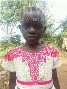 Choose a child to sponsor, like this little girl from Kibiga-Mulagi (Kimu), Hope age 6