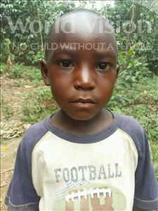 Samuel, aged 4, from Uganda, is hoping for a World Vision sponsor