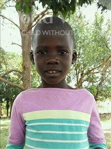 Choose a child to sponsor, like this little girl from Kibiga-Mulagi (Kimu), Angel age 7