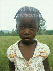 Choose a child to sponsor, like this little girl from Kibiga-Mulagi, Brenda age 4