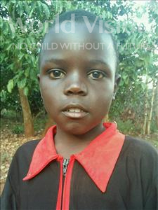 Choose a child to sponsor, like this little boy from Kibiga-Mulagi (Kimu), Ssekimwaanyi age 8