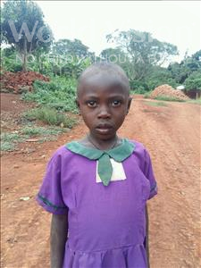 Choose a child to sponsor, like this little girl from Kibiga-Mulagi, Josephine age 9