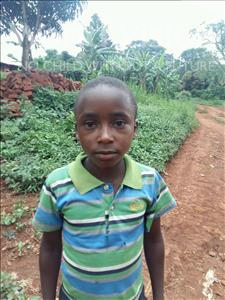 Choose a child to sponsor, like this little boy from Kibiga-Mulagi, James Sunday age 9