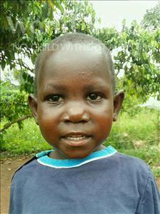 Choose a child to sponsor, like this little girl from Kibiga-Mulagi (Kimu), Juliet age 5
