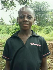 Choose a child to sponsor, like this little boy from Ntwetwe, Jackson Musasizi age 10