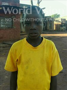 Choose a child to sponsor, like this little boy from Ntwetwe, Niyomugyeri age 10