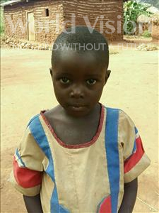 Choose a child to sponsor, like this little girl from Ntwetwe, Florence age 5